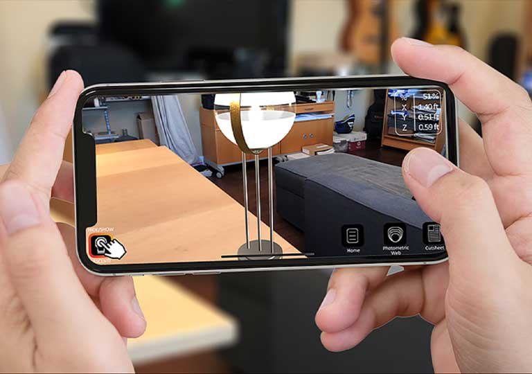 A new way to see light with the ASCENTI App